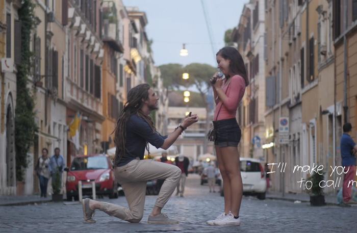 Ovanlig förlovning