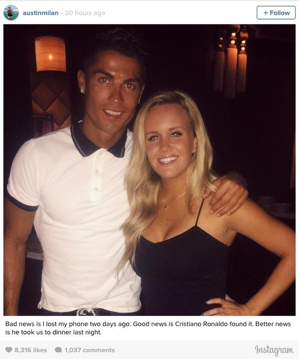 Cristiano Ronaldo kön videogay sex Club NYC