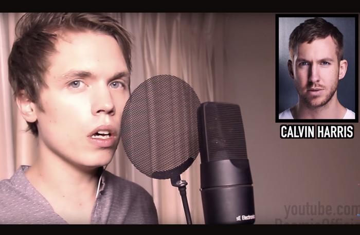 Roomie sjunger som 15 artister