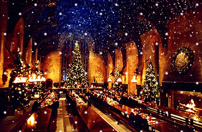 Jul på Hogwarts