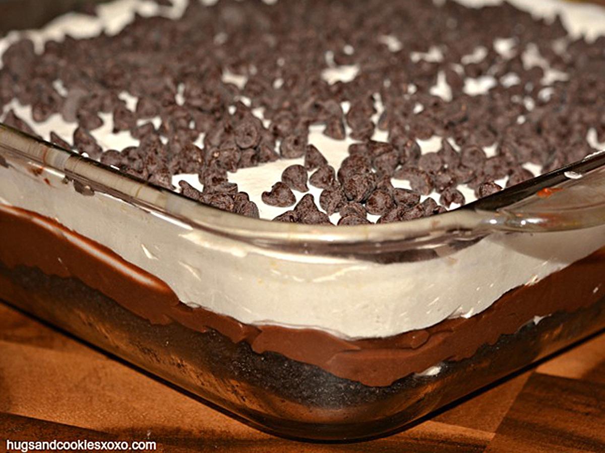 Chokladlasagne – recept
