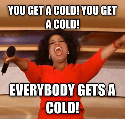 Förkyld på förskola