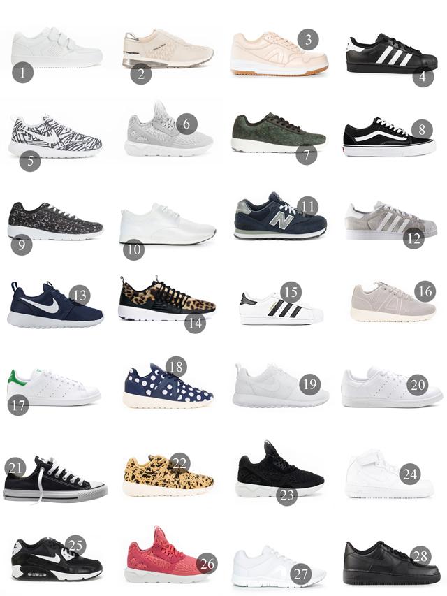 trendiga sneakers 2016