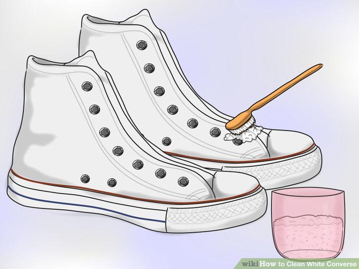 Steg för steg guide: Så tvättar du dina vita Converse så att