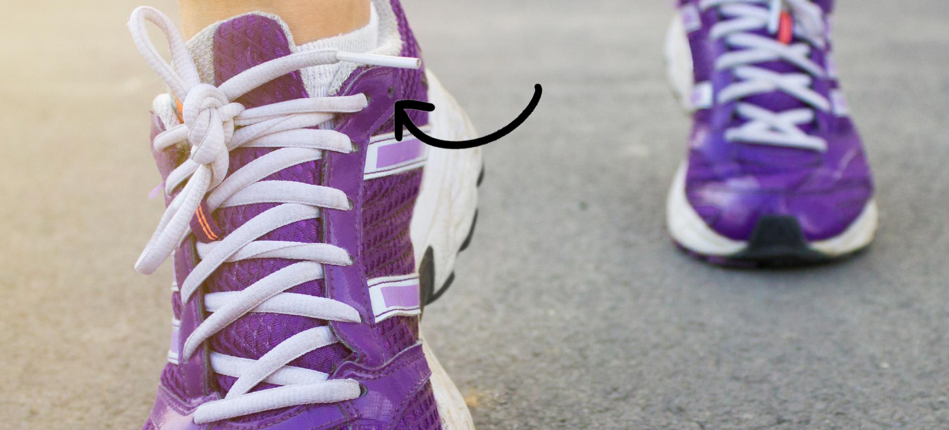 c4559e18de3 Det lilla hålet längst bak på dina joggingskor finns där av en anledning –  och den är fenomenal!