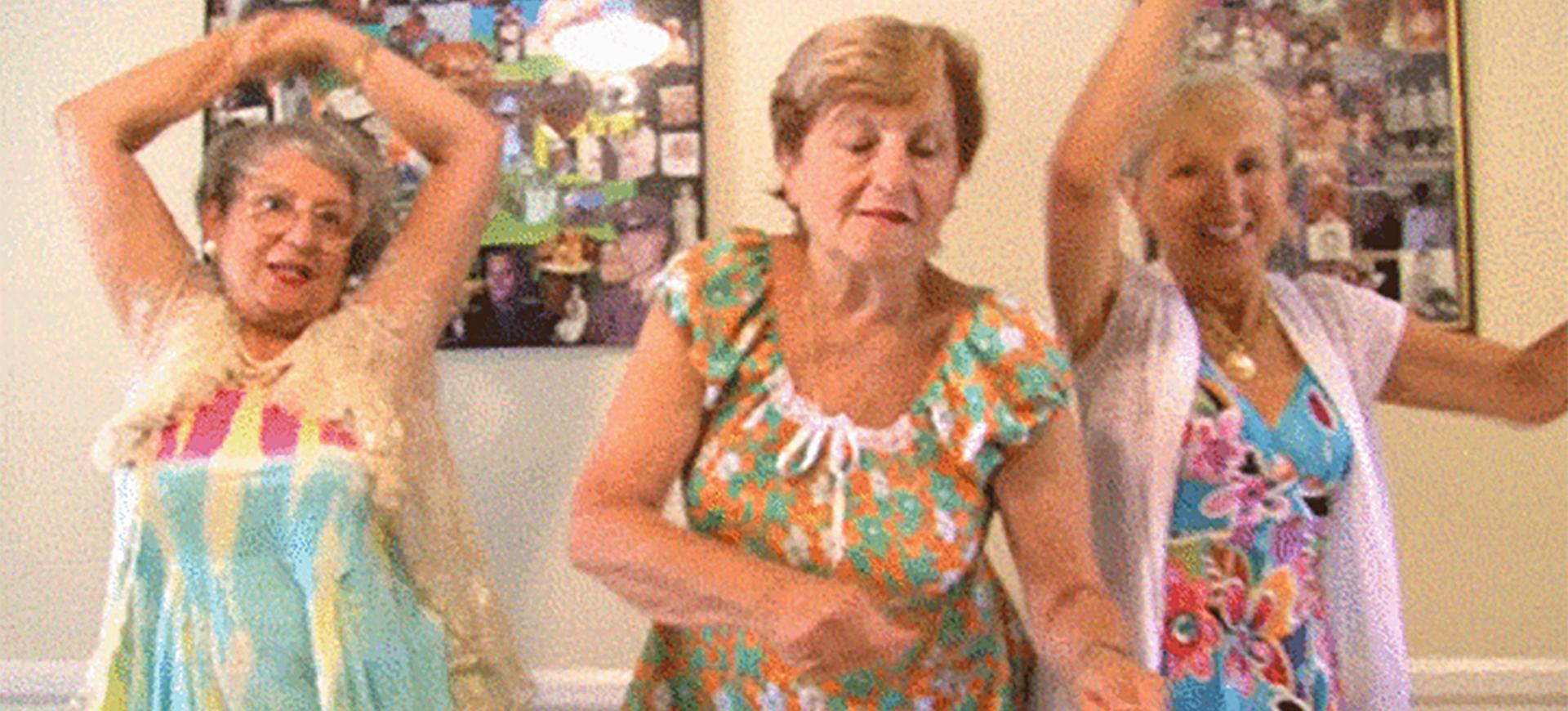 Du och din BFF när ni är 70 år