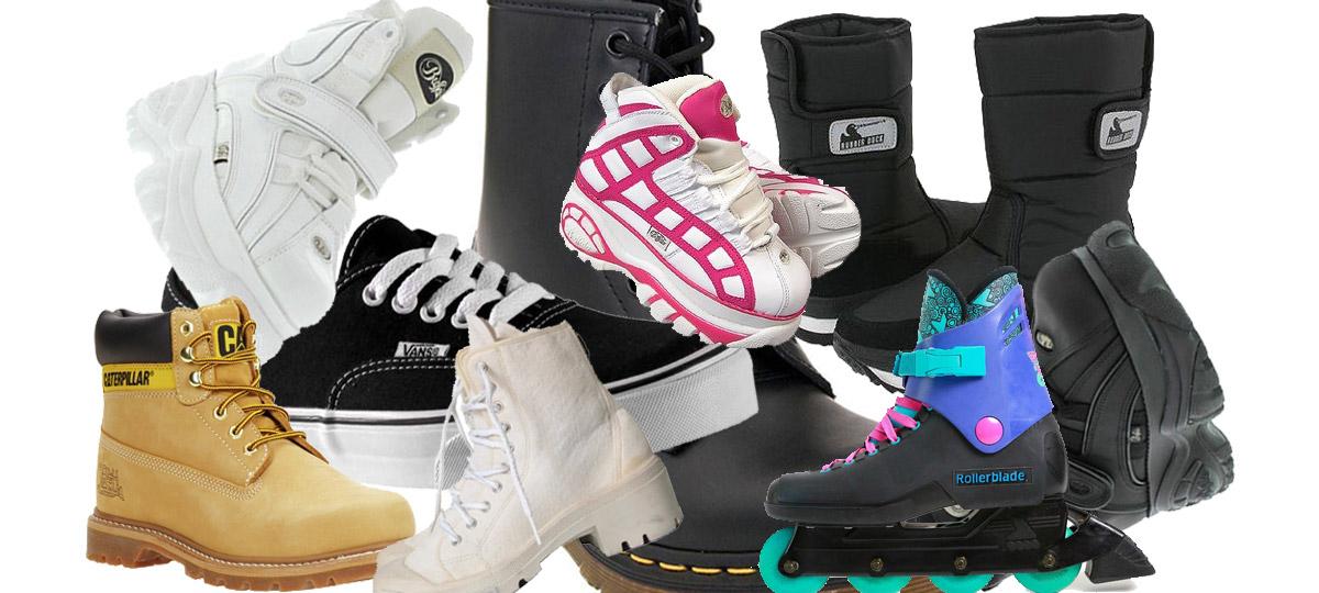 20 par skor vi alla hade i vår ungdom (vad hade vi på oss