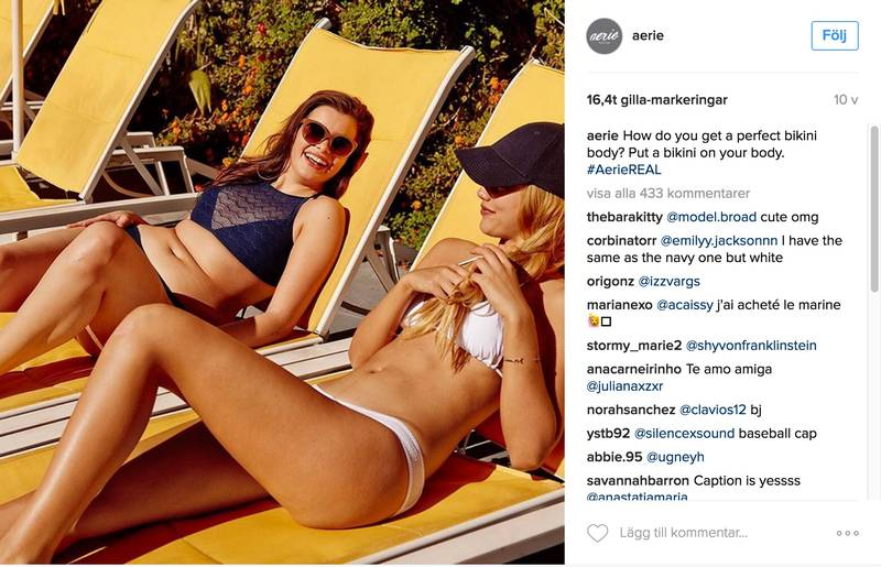 Företaget som slutade retuschera sina bikinibilder