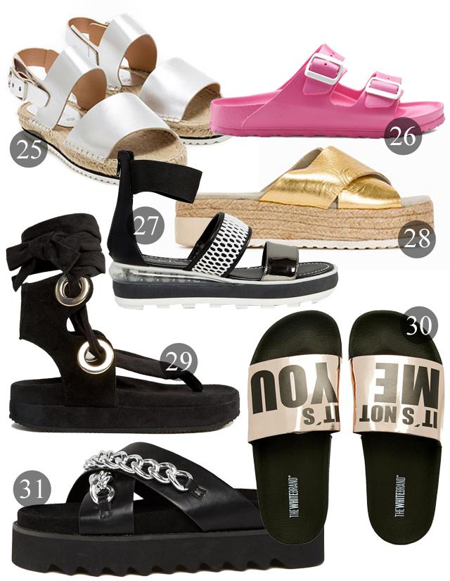 coola sandaler