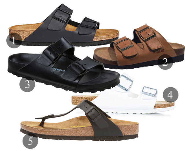 Klassiska sandaler