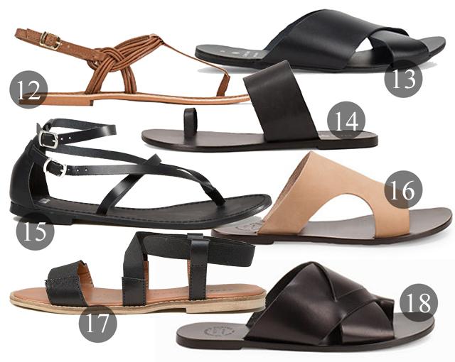 nätta sandaler