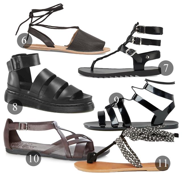 sandaler gladiator