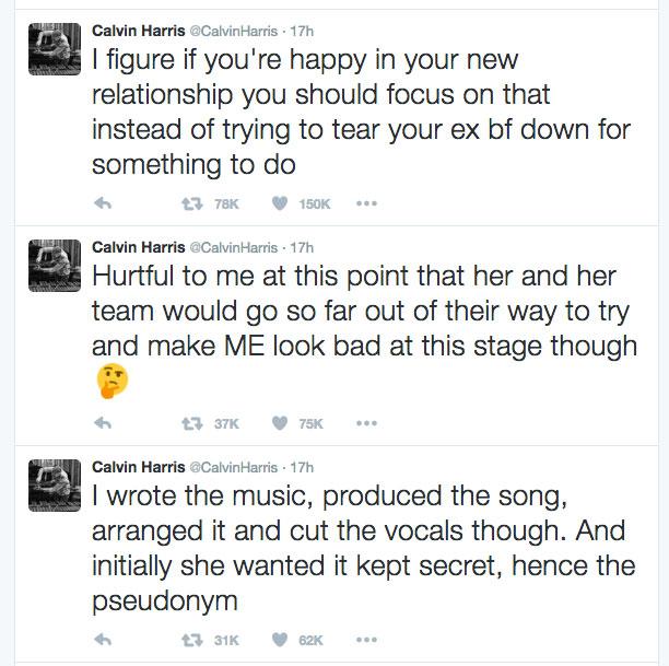 Taylor Swift skrev låt i hemlighet åt Calvin Harris och Rihanna