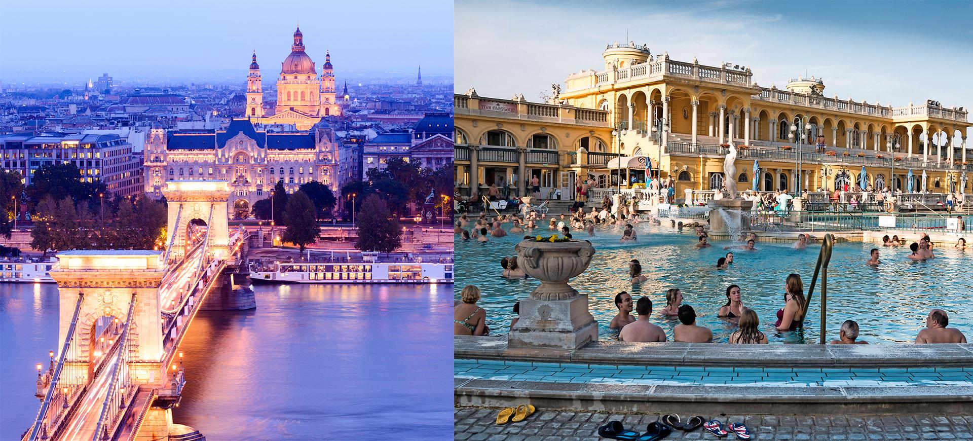 Vy över Budapest