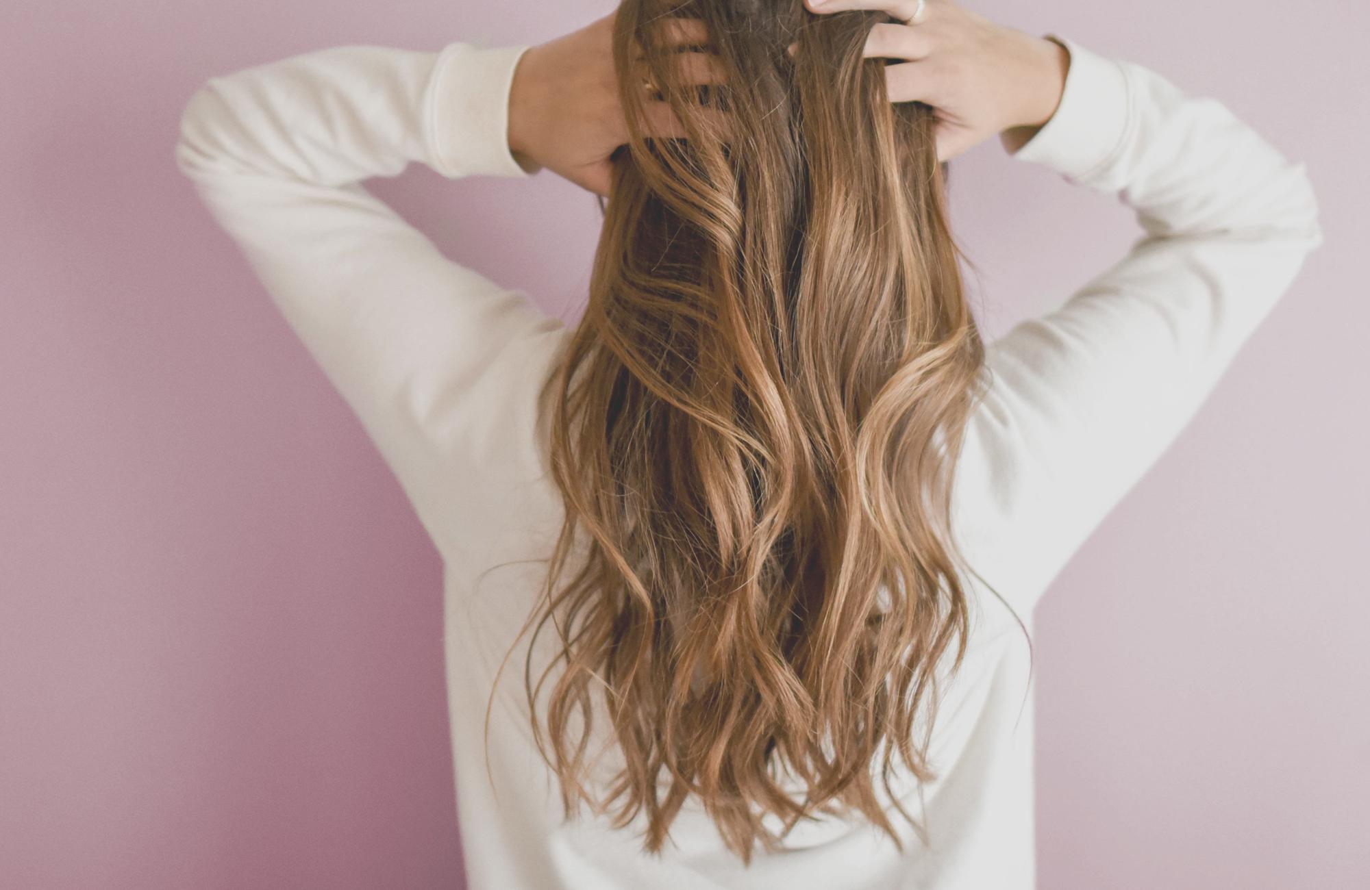 få långt och tjockt hår