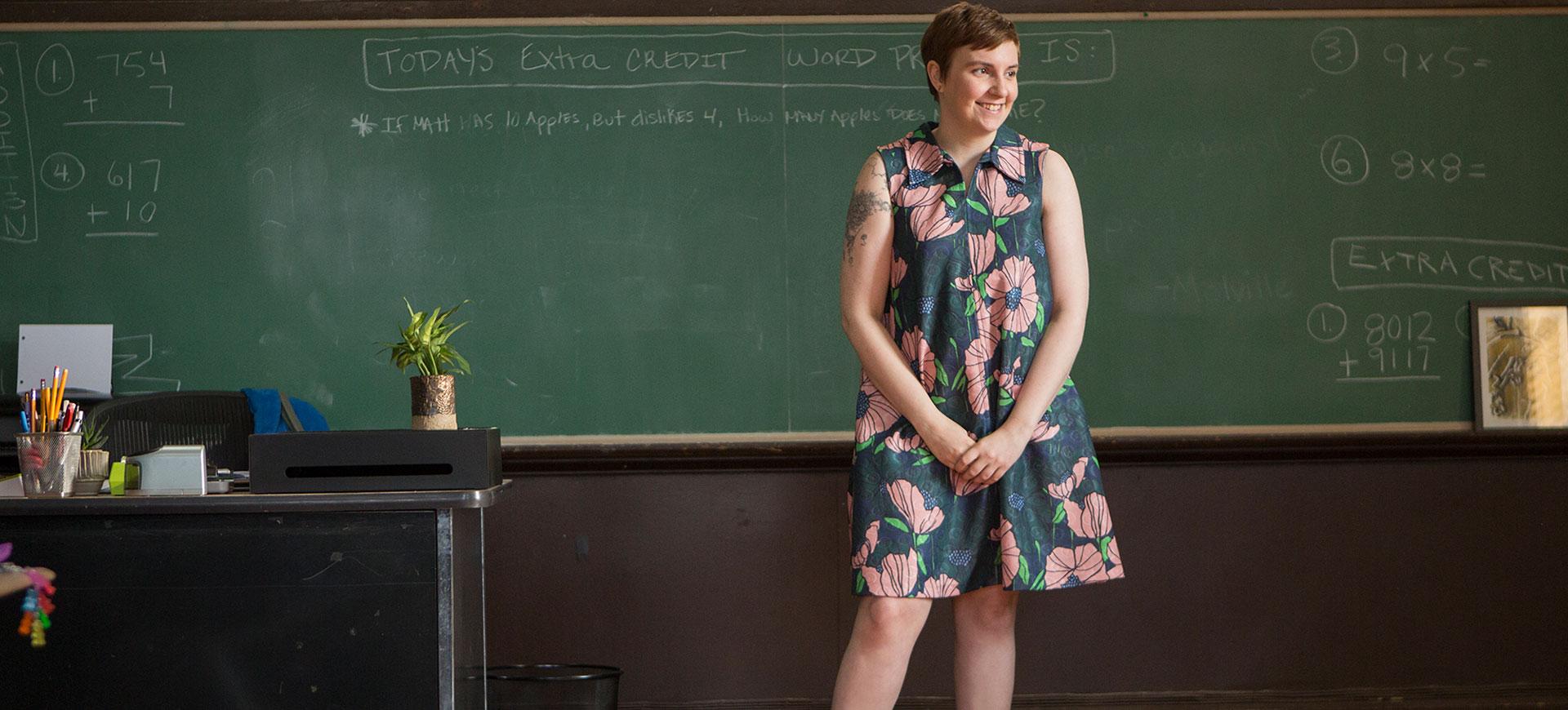 Lena Dunham i ny underklädesreklam som vi alla kan relatera till