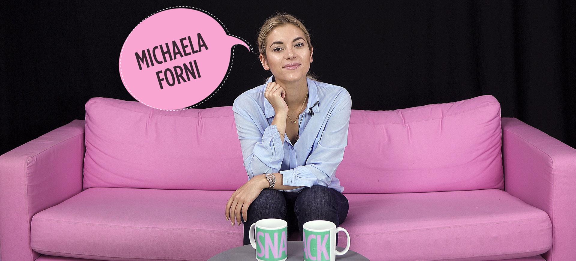 """Intervju med Michaela Forni: """"Jag är inte perfekt"""""""