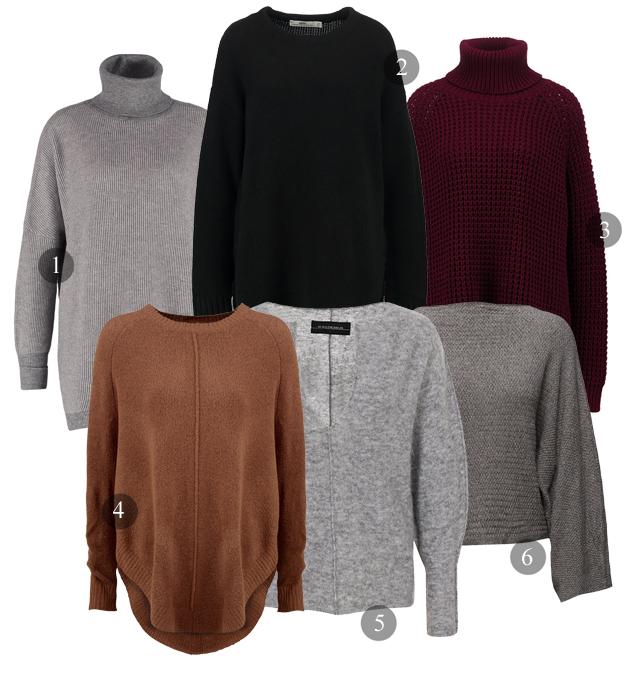 oversized tröjor
