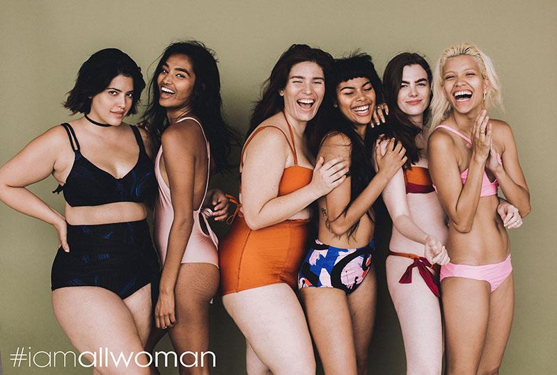 Denise Bidot (från vänster), Shivani Persad, Clémentine Desseaux, Leaf, Charli Howard och Victoria Brito