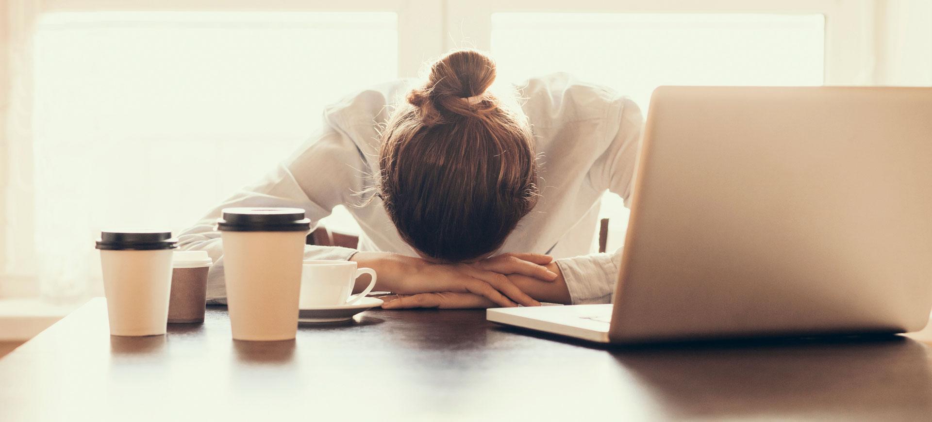 När du tabbar dig på jobbet