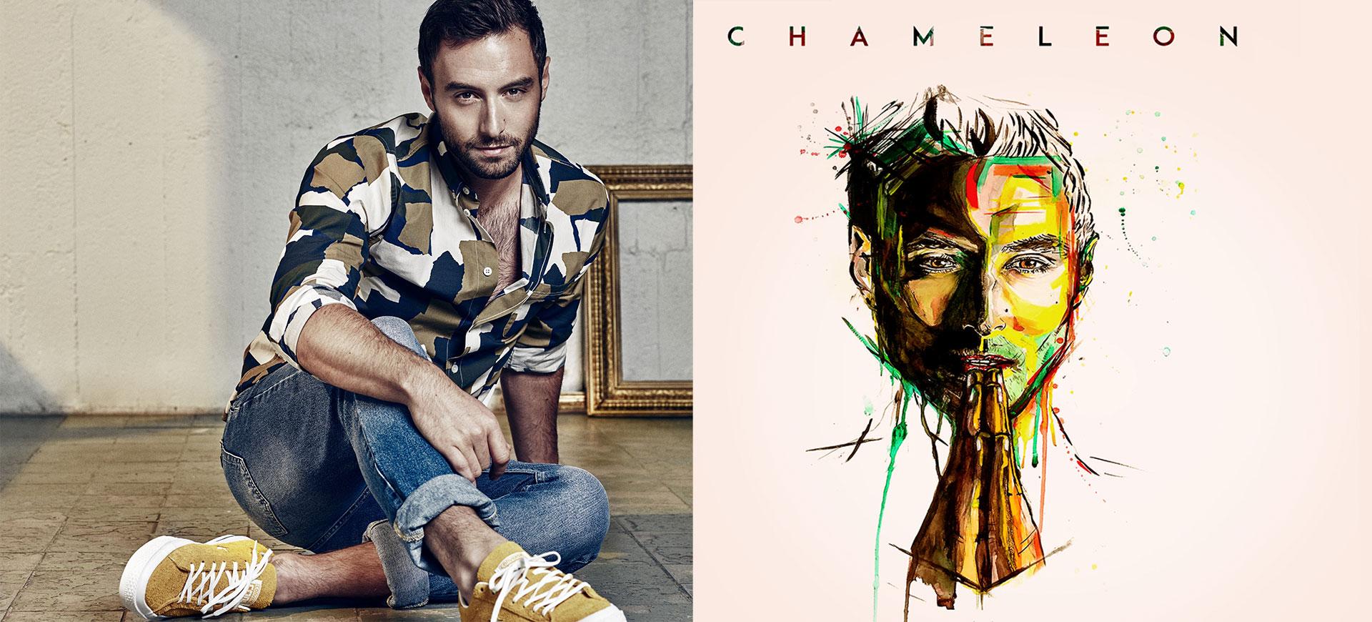 måns zelmerlöw chameleont glorious album singel
