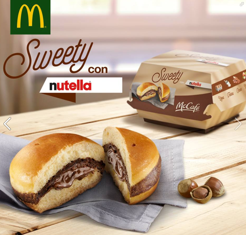 mctella mcdonalds nutella