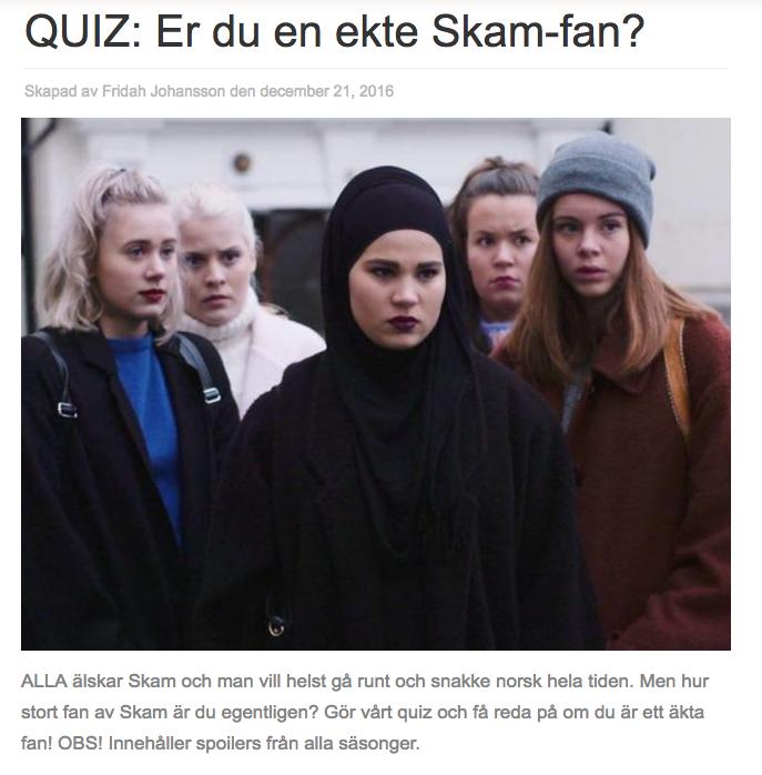 skam quiz