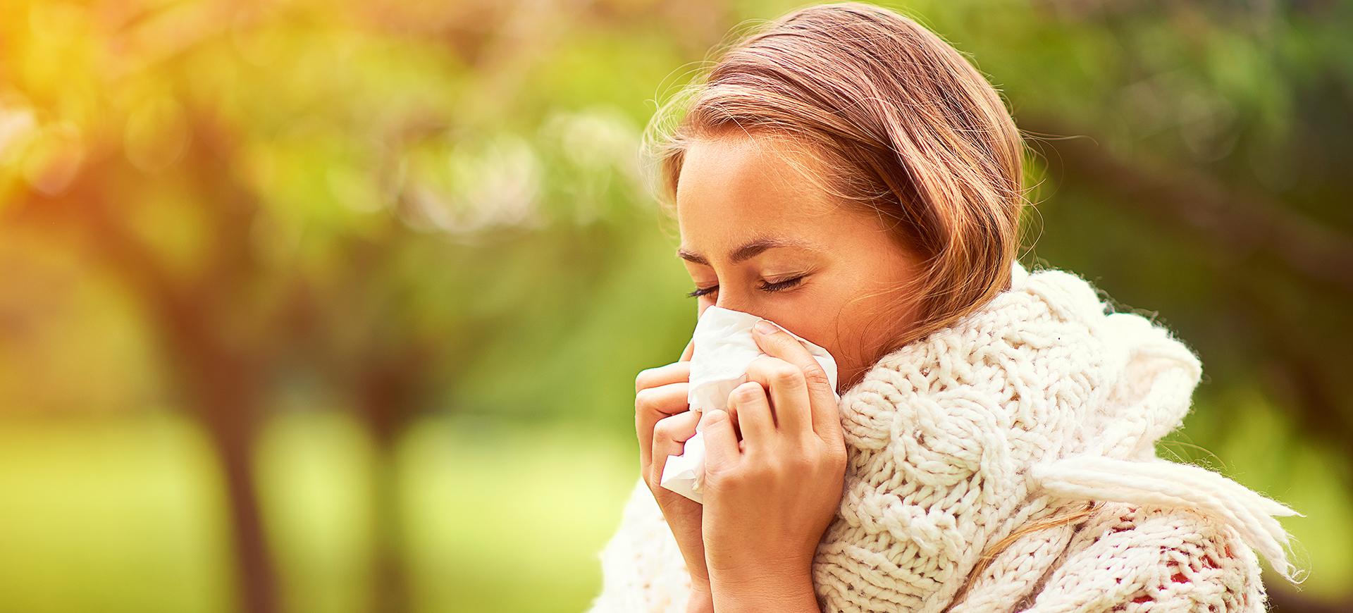 bli kvitt förkylning