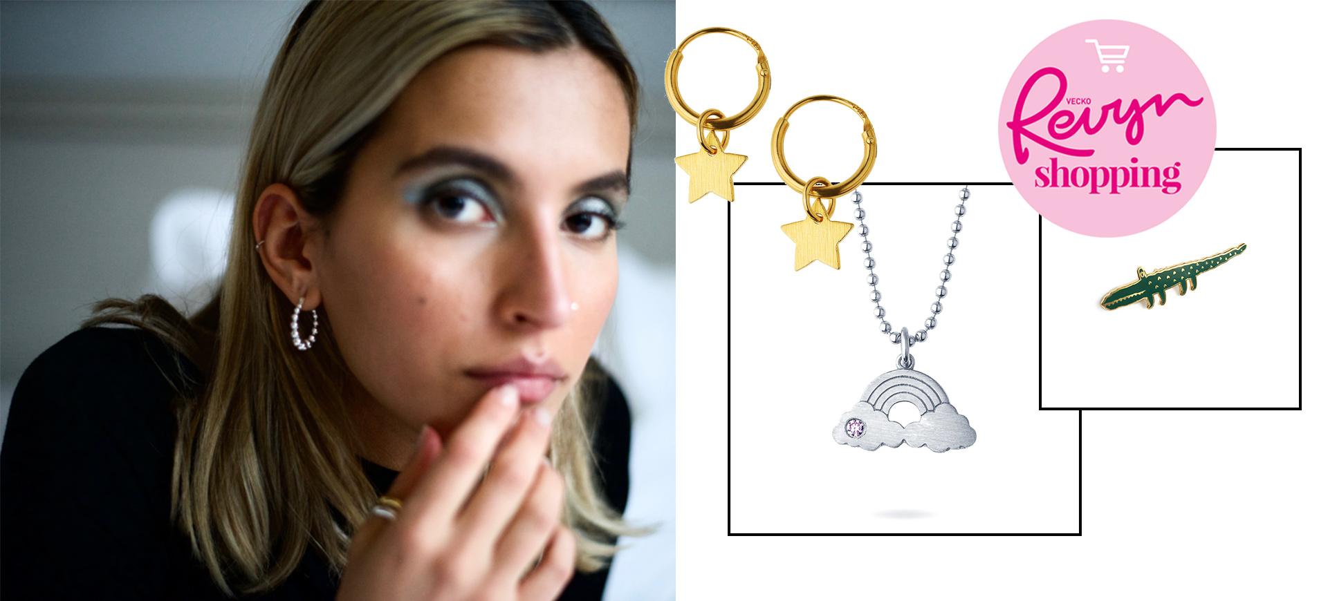 armband halsband örhängen och ringar online