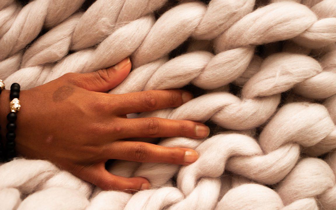 chunky knit filt