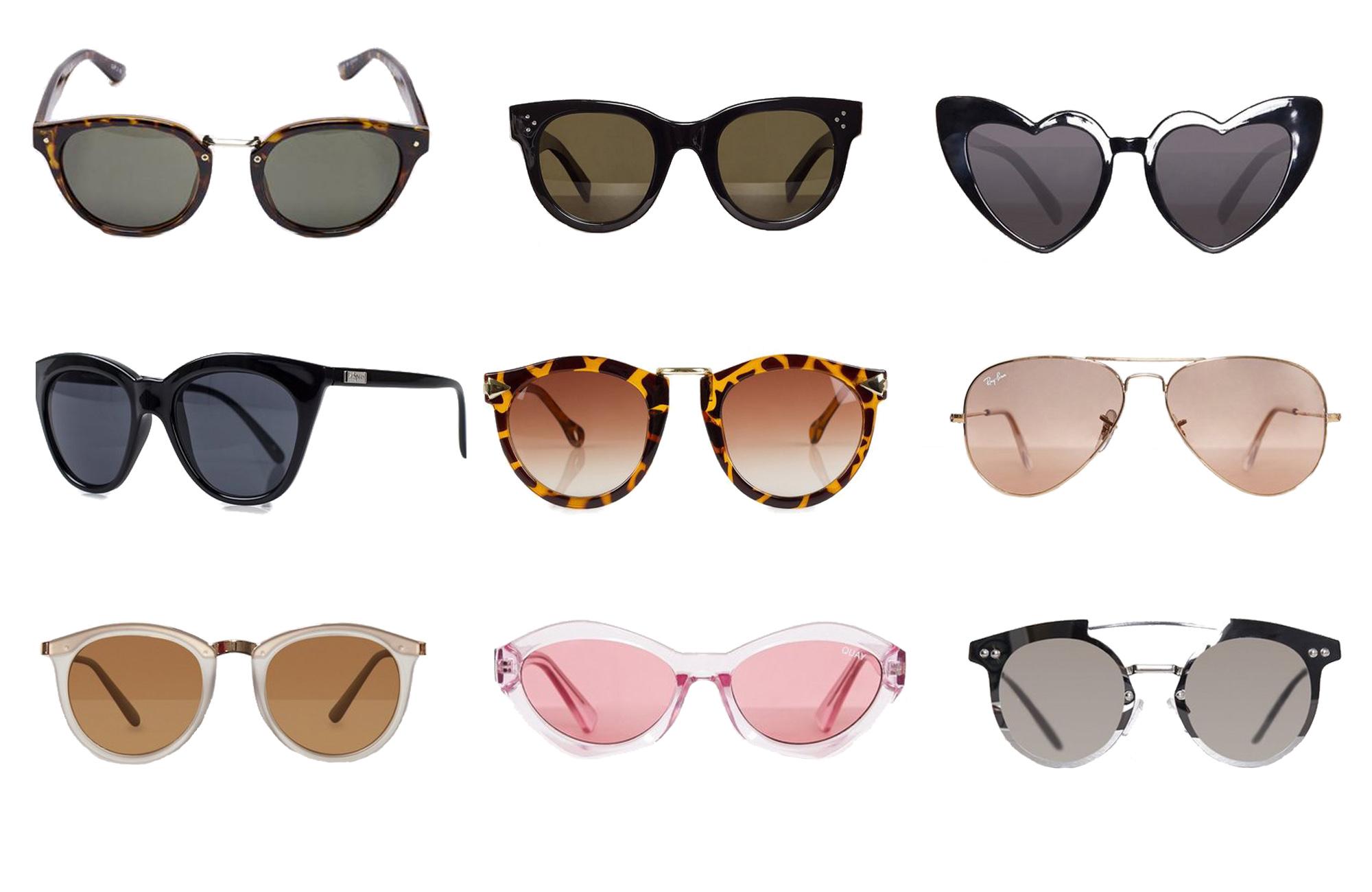 Solglasögon från Gina Tricot. Läs mer och köp här. 2. Solglasögon från  Céline. Läs mer och köp här. 3. Solglasögon från NLY Accessories. 26e215cf621fc