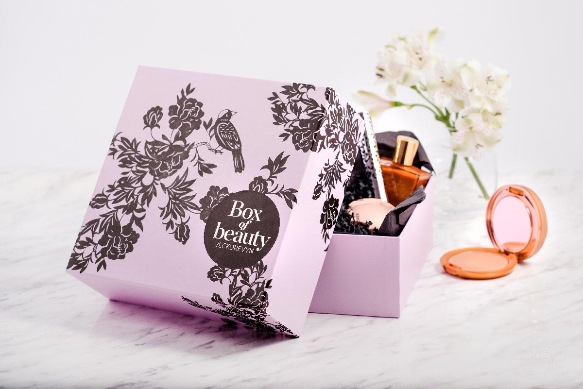 prenumerera på skönhetsprodukter med veckorevyn beautybox