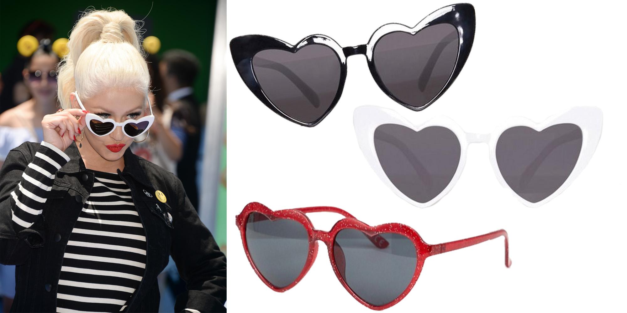 a8f582078c Hjärtformande solglasögon: Här köper du kändisarnas favoriter ...
