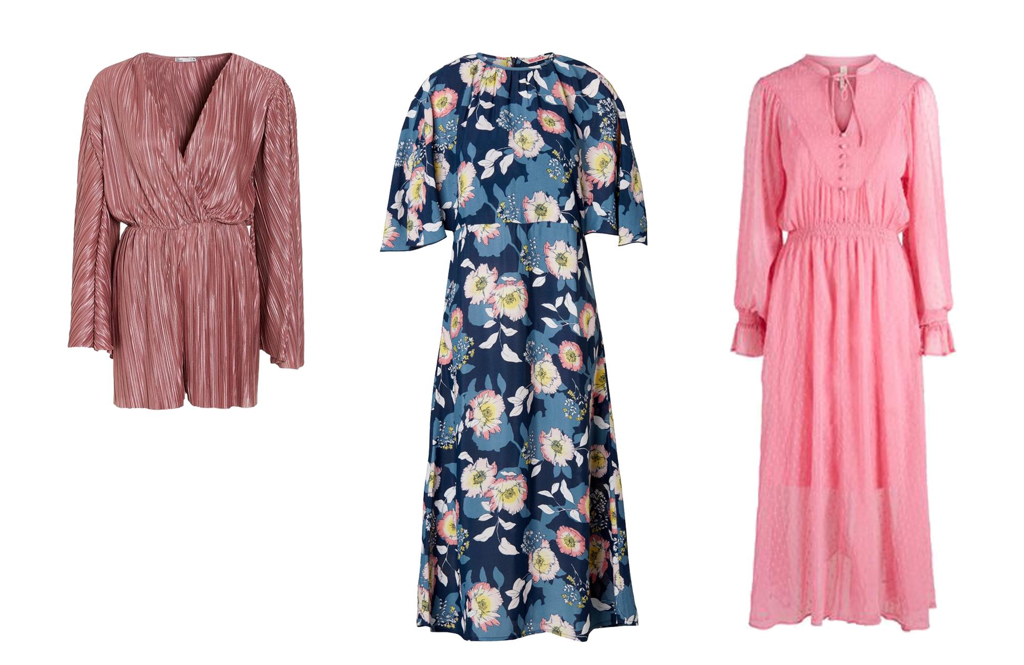 a247d160dafa Knalligt röd jumpsuit från Gina Tricot. Läs mer och köp här. 11. Prickig  klänning med volanger från Lindex. Läs mer och köp här. 12. Blommig  jumpsuit från ...