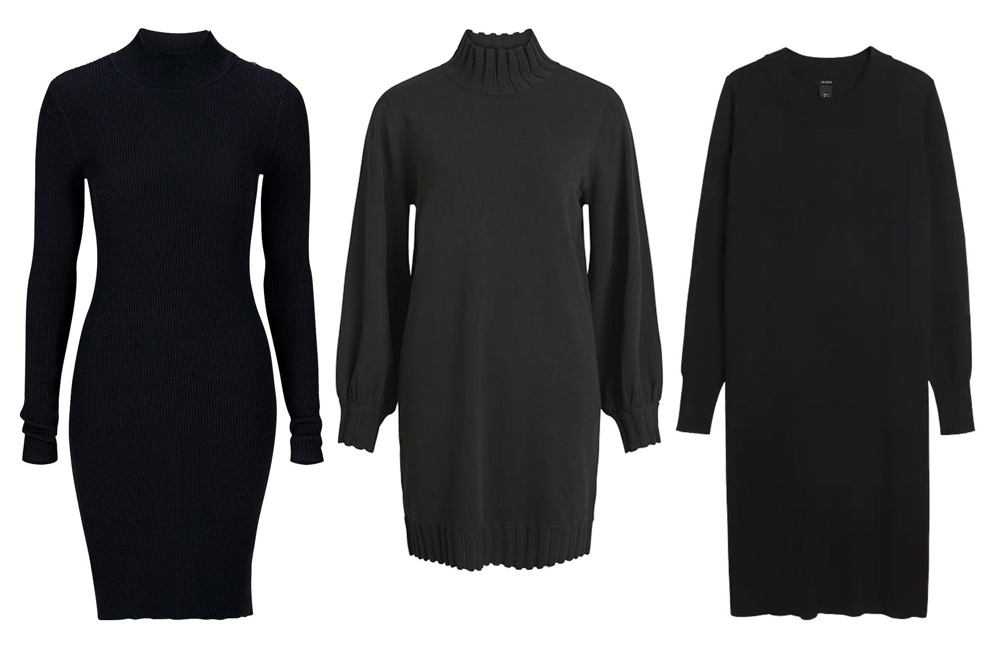 15 stickade klänningar som är både snygga och varma i höst