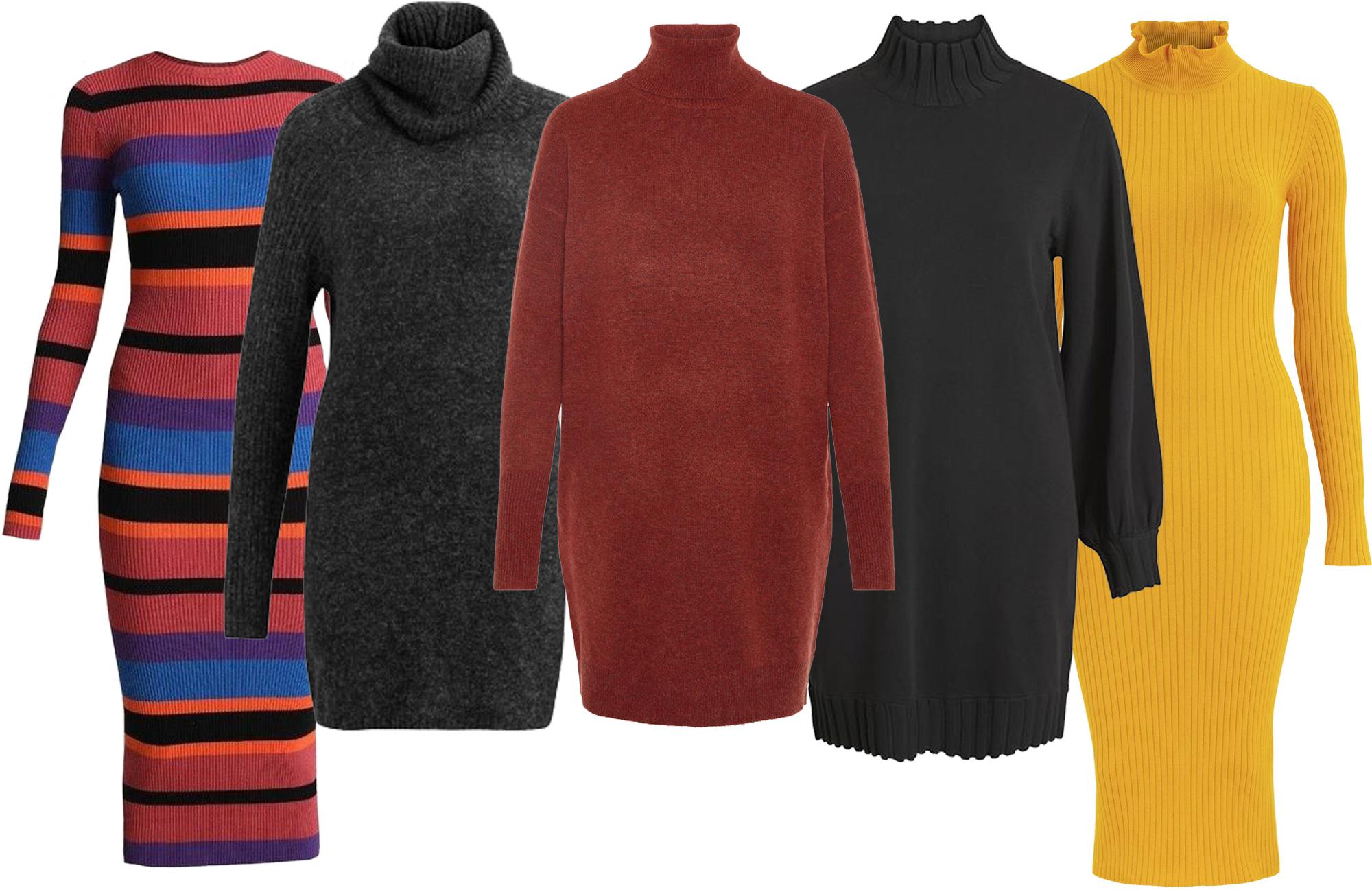 15 stickade klänningar som är både snygga och varma i höst – VeckoRevyn 64274ea5022d6