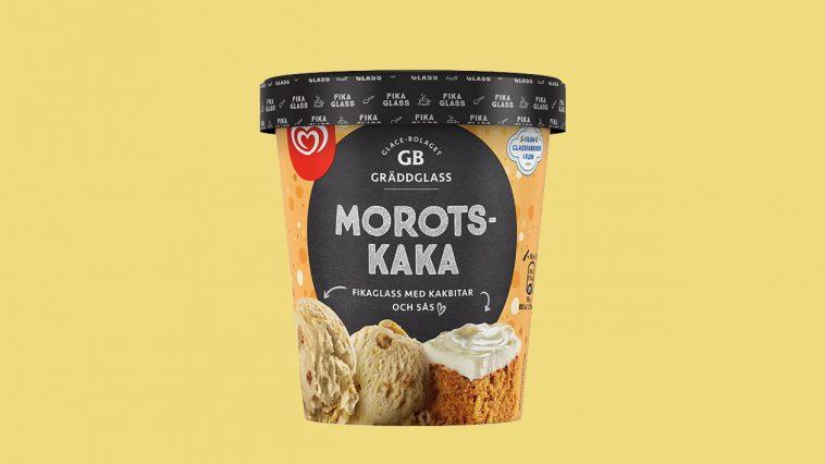 GB lanserar fikaglass i smakerna kladdkaka, äppelpaj, hallongrotta och morotskaka