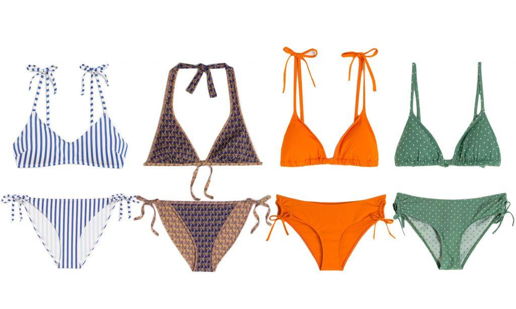 badkläder badmode dam 2019 tringel bikini