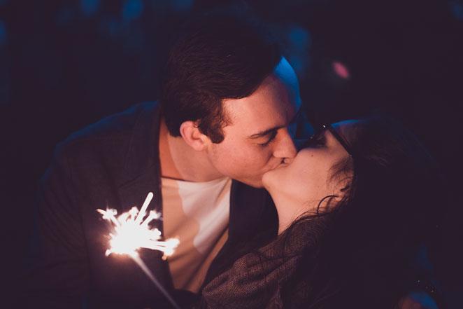 Kyssar och tomtebloss