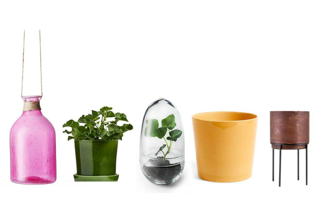 Inspirerande krukor till dina växter