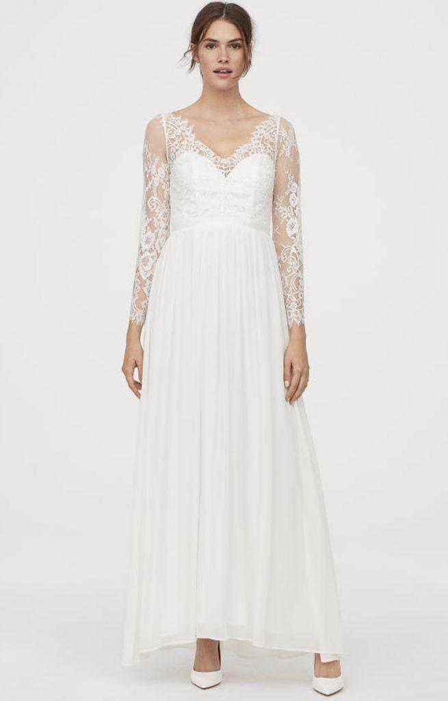 Vilken bröllopsklänning i spets passar dig?