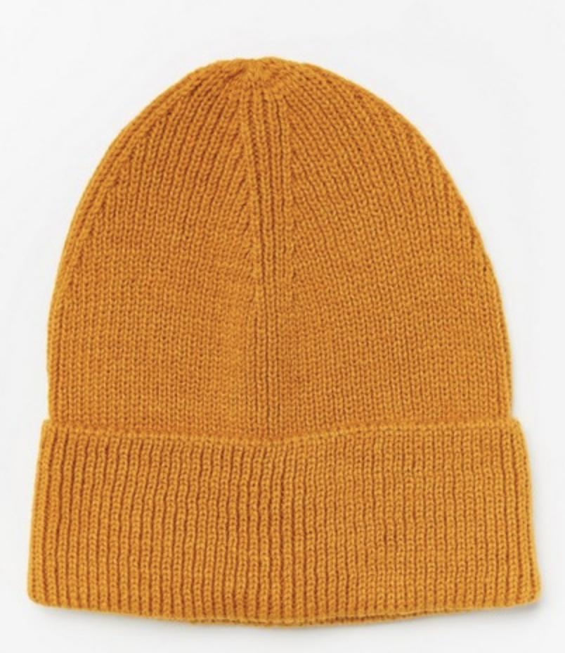 gul mössa i vinter