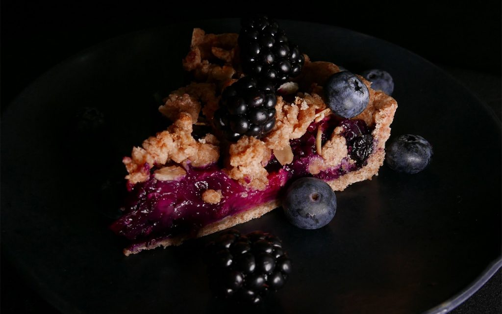 Hur lagar man en blåbärspaj?