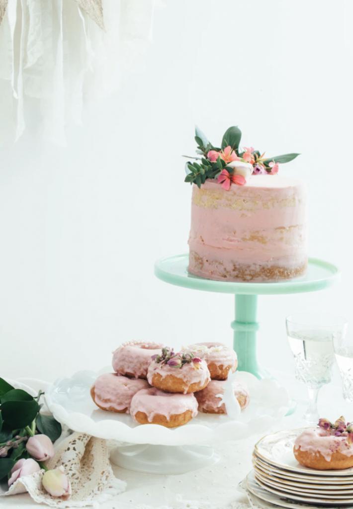Den perfekta baby shower tårtan