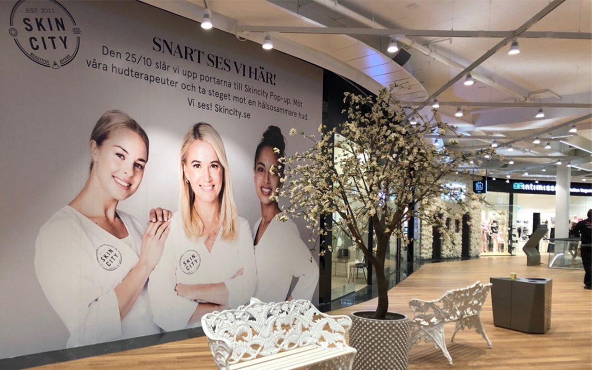 Skincity öppnar fysisk butik i Mall of Scandinavia