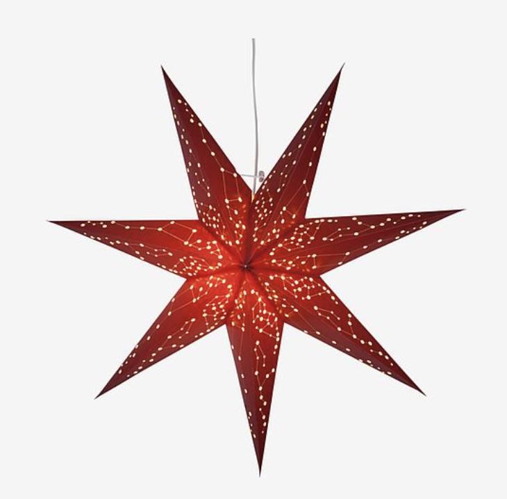 Indiska har fina julstjärnor