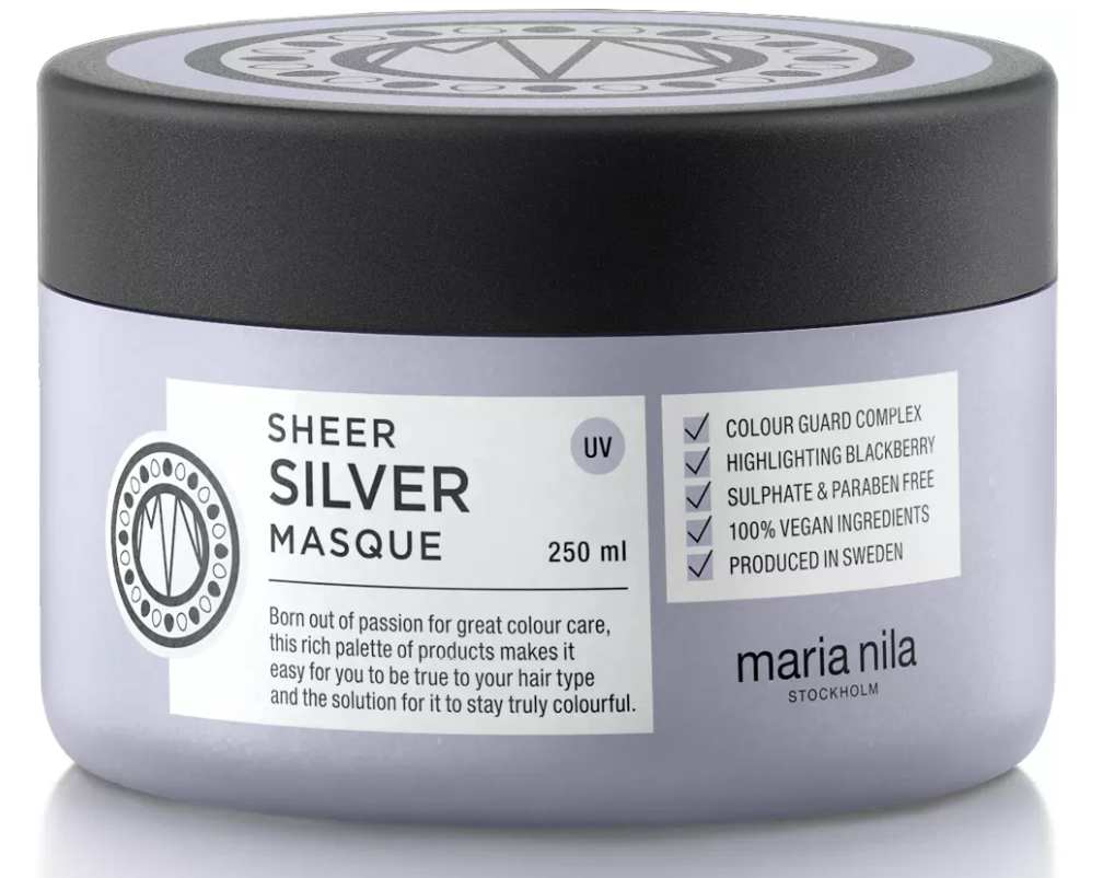 hårinpackning blont hår silverschampoo