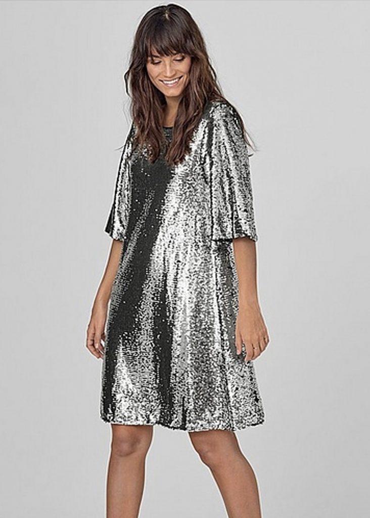 Nyårsklänningar och festklänningar i glitter och paljett