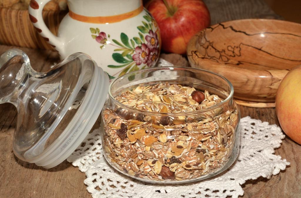 Gör ditt egna müsli- med smak av honung och kokosflingor