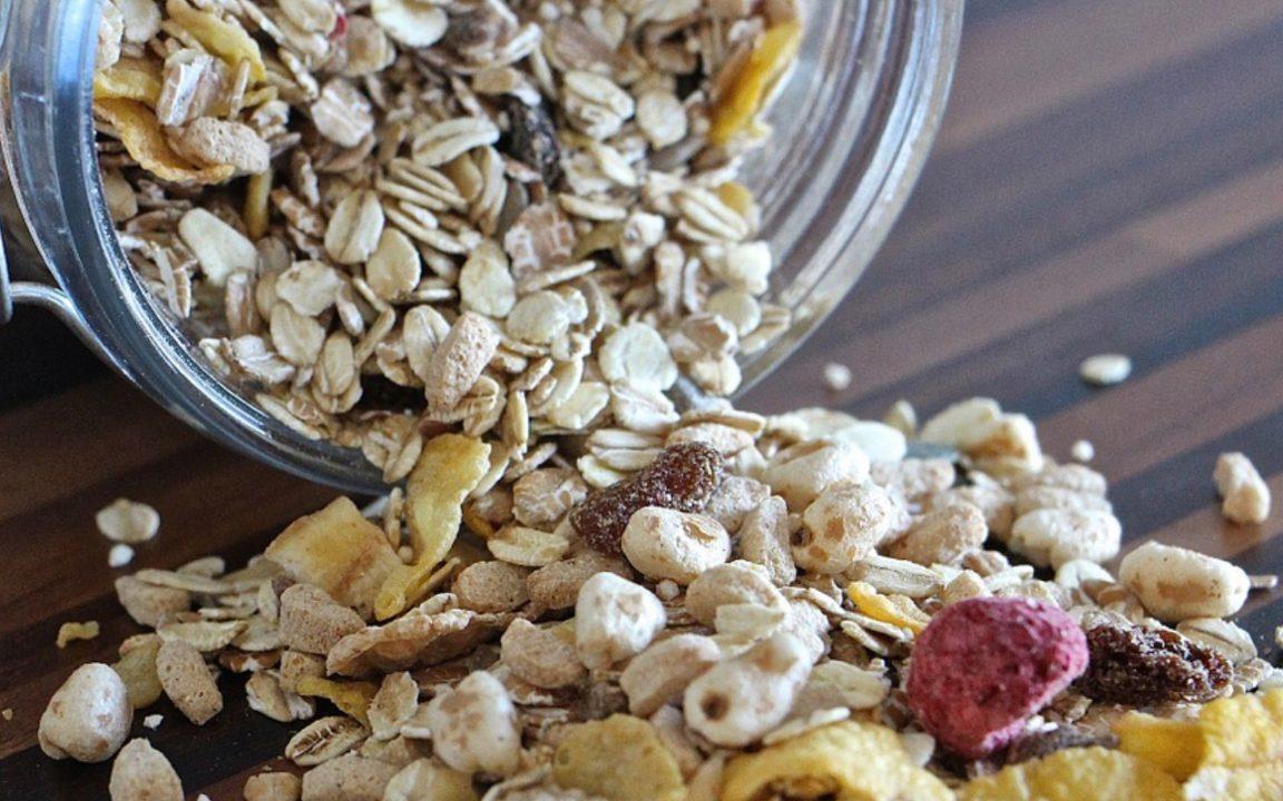 muslireceptmuslirecept med honung och kokosolja